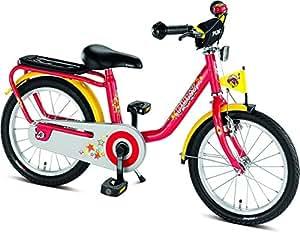 """PUKY - Vélo enfant 16 """" - rouge 2015"""