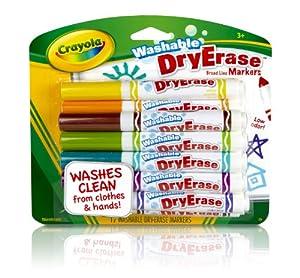 Crayola 12ct Washable Dry Erase Markers
