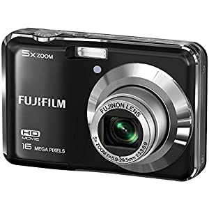 Fujifilm FinePix AX560 - 16MP Digital Camera with 5x Optical Zoom, HD Video, 2.7