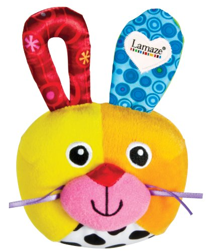 51ipHWNCeCL Lamaze Baby Toy, Giggle Bunny Ball