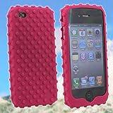 iPhone4/iPhone 4 専用 バンパージャケットカバーケース(ガムドロップ/ピンク) Gumdrop Skin Case