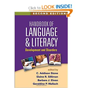 Download Handbook of Language and Literacy, Second Edition: Development and Disorders ebook