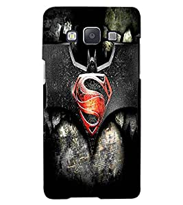 ColourCraft Creative Image Design Back Case Cover for SAMSUNG GALAXY A8