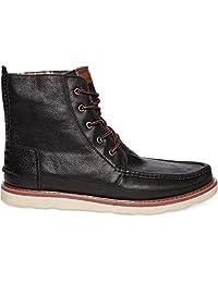 Toms Leather Men's Searcher Boots Black 10002750 (SIZE: 7)