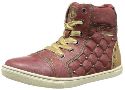 Bruno Banani Womens BE GLAMOUR High Top Red Rot (Red 661) Size: 7 (41 EU)