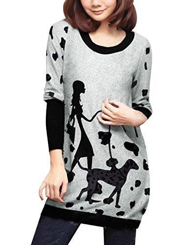 allegra-k-women-dog-and-lady-pattern-loose-tunic-knit-top-light-gray-m