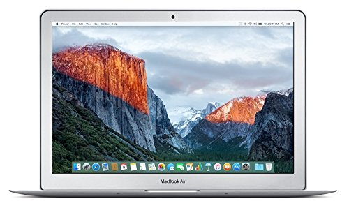 Apple MacBook Air 13-inch Laptop (Intel Core i5 1.6 GHz, 8 GB RAM, 128 GB SSD, Intel HD Graphics 6000, OS X El Capitan) - Silver - 2016 - MMGF2B/A - UK Keyboard