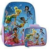 Disney Tinker Bell 16 Backpack + Bonus Lunch Bag