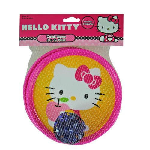 Hello Kitty Sticky Catch Game with One Ball - 1