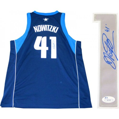 Dirk Nowitzki Autographed Authentic Dallas Mavericks Jersey