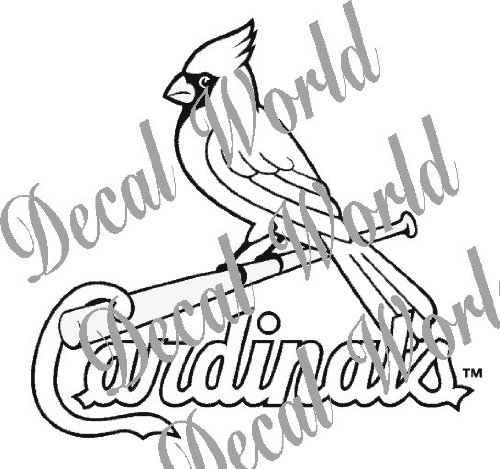 For my children they spent 15 to 20 yea by nolan ryan for St louis cardinals logo coloring pages