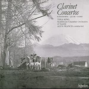 Three English Clarinet Concerti