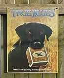 Tin Sign Peters-True Blue Lab.
