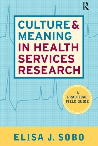 Culture and Meaning in Health Services Research: An Applied Approach: A Practical Field Guide: 0
