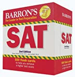 img - for Barron's SAT Flash Cards, 2nd Edition book / textbook / text book