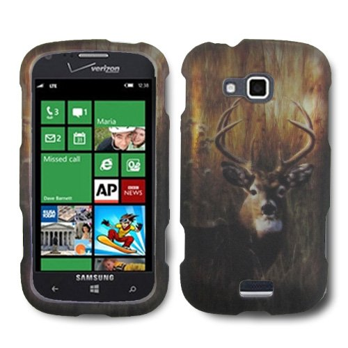 Click to buy IMAGITOUCH(TM) 4 Item Combo For SAMSUNG ATIV Odyssey i930 (Verizon) Rubberized Design Hard Shell Case Cover Phone Protector Faceplate - Buck Deer Hunting Camo (Stylus Pen, ESD Shield Bag, Pry Tool, Phone Cover) - From only $16.4