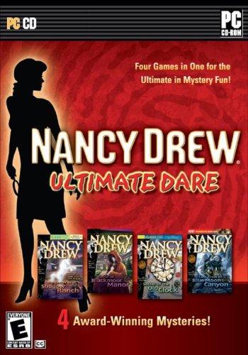 Nancy Drew Ultimate Dare Bundle 4 Games in 1B001D25T3C