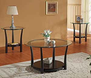 Woodbridge home designs laurie 3 piece coffee - Woodbridge home designs avalon coffee table ...