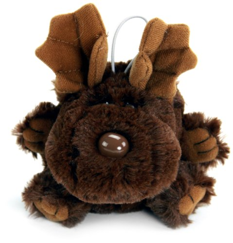 "Purr-Fection Mini Harley Moose Cushy Critter 5"" Plush - 1"