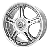 American Racing Estrella (Series AR95) Machined Finish With Clear Coat - 14 X 6 Inch Wheel