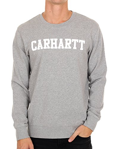 Carhartt Men College Sweat Crews Black/White