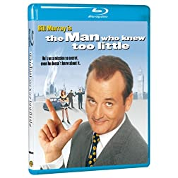 Man Who Knew Too Little [Blu-ray]