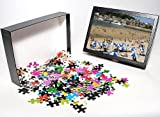 Photo Jigsaw Puzzle of Beach and town vi...