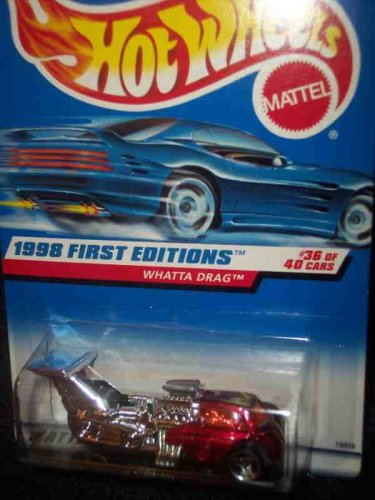 1998 First Editions -#36 Whatta Drag #673 Mint 1:64 Scale - 1