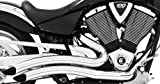 Freedom Performance Sharp Curve Radius Exhaust System - Chrome , Color: Chrome MH00007