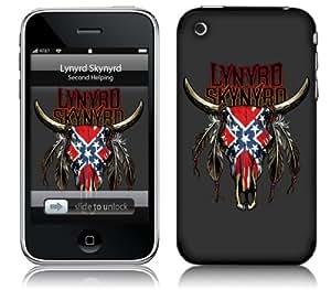 MusicSkins, MS-LS20001, Lynyrd Skynyrd - Bull, iPhone 2G/3G/3GS, Skin