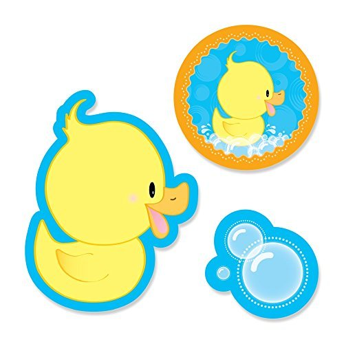 Ducky Duck - Shaped Party DIY Cut-Outs - 24 Count