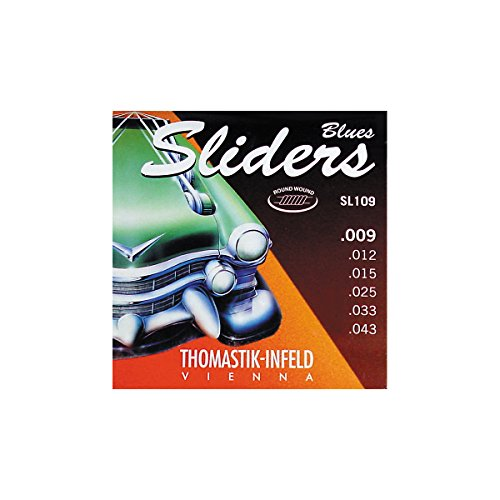 Thomastik Sl109 Sliders Light Electric Guitar Strings