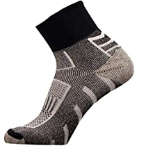 Copper Running Sport Socks - Perfect for Cycling, Jogging, Tennis, Walking (L)