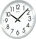 SEIKO CLOCK (セイコークロック) 掛け時計 オフィスタイプ クオーツ 金属枠 KH409S