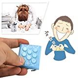 Zuoao,Electronic Bubble Wrap Keychain Squeeze Relieve Stress Gadget bubble pop keychain