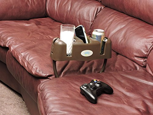 Cupsy Sofa and Couch Armchair Drink Organizer and Recliner Drink Caddy with Removable Legs - Multiple Colors (Sofa Cup Holder compare prices)