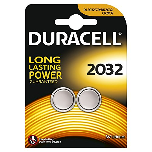 Duracell 2032 Specialty Lithium Coin Battery (Pack of 2)