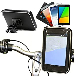 Navitech Cycle / Bike / Bicycle / Motorbike Waterproof holder mount and case for Smart Phones Including The Samsung Galaxy Note