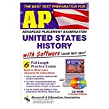 img - for REA's AP US History Test Prep with TESTware Software book / textbook / text book