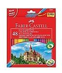 Faber-Castell 120148 CASTLE crayons d...
