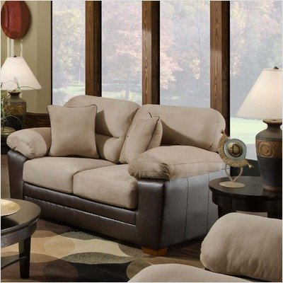 Buy Low Price American Furniture Loveseat in Mocha (G4202-6323)