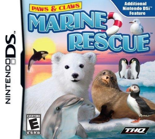 Paws And Claws Marine Rescue - Nintendo Ds