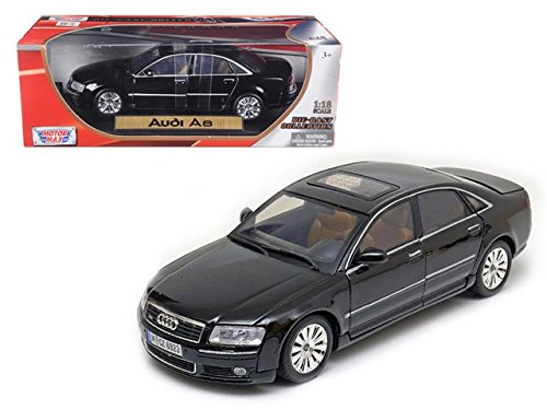 2004 Audi A8 Black 1/18 by Motormax 73149 (Audi A8 Model Car compare prices)