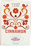Higher Living Organic Cinnamon 15 Teabags (Pack of 6, Total 90 Teabags)