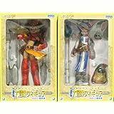 新世紀エヴァンゲリオン EX 大冒険フィギュア feat.八雲剣豪 全2種セット