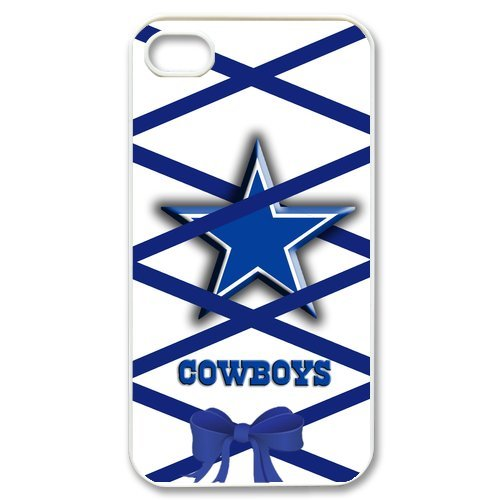 NFL Dallas Cowboys iPhone 4/4S Blue Shoelace Case Cover Protector Gift Idea at Amazon.com