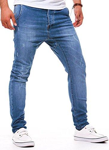 LEIF NELSON -  Pantaloni sportivi  - Uomo blu blu W31/L32