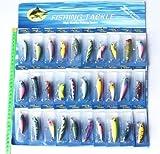 Great Deal(TM) 30pcs Kinds of Fishing Lures Crankbaits Hooks Minnow Poper Baits Tackle