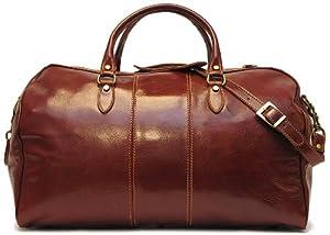 Floto Luggage Venezia Duffle, Vecchio Brown, One Size from Floto Imports