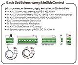 Merten MEG1940-3001 KNX Basis Set Beleuchtung & InSideControl